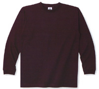 7.0oz. SUPER HEAVY LONG SLEEVE T-SHIRT(GLIMMER)